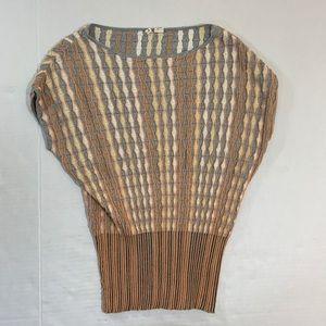 Anthropologie Moth Sleeveless Stretch Sweater S